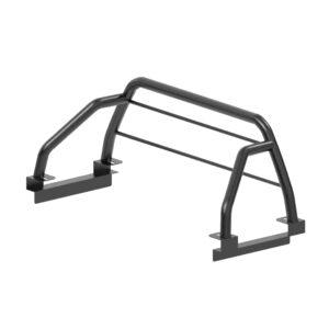 barra antivuelco sencilla con tubos protectores